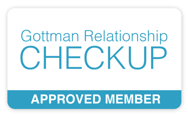 Gottman Relationship Checkup Approved Member Badge - D'Arcy Vanderpool